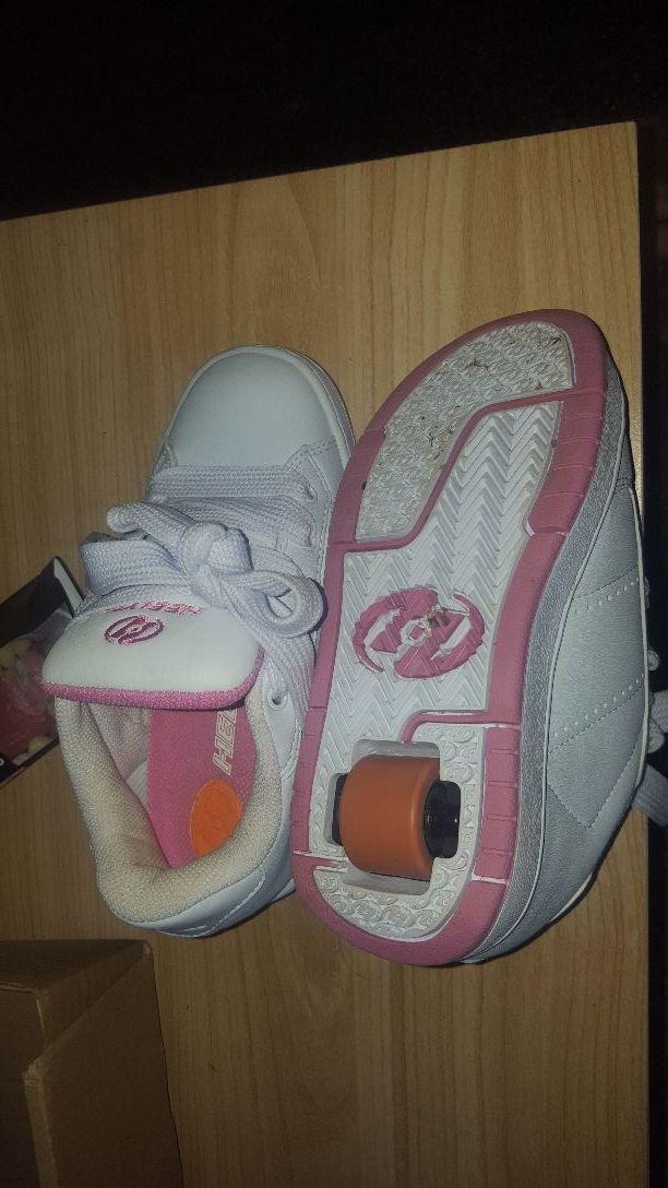 kids heelie trainers