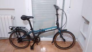 Bicicleta plegable Nishiki Nautic D5