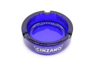 Cenicero de vidrio, publicidad de Cinzano