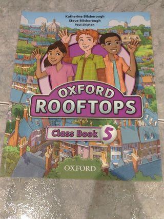 Oxford Rooftops Class Book 5. ISBN9780194503679
