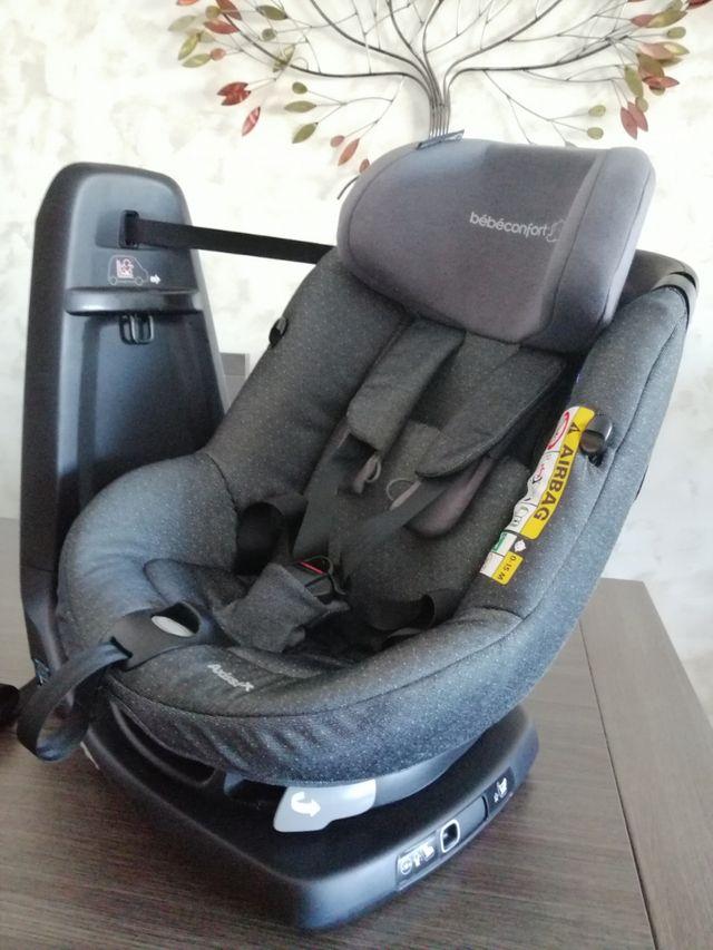 2 sillas coche grupo 0+ 1 Bebeconfort asisfix