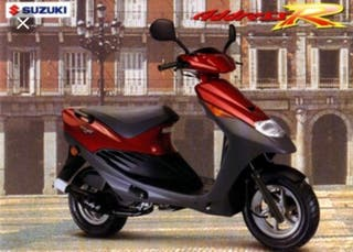 Suzuki ap 50x (address)