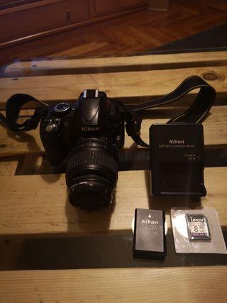 Cámara Reflex Nikon D3100