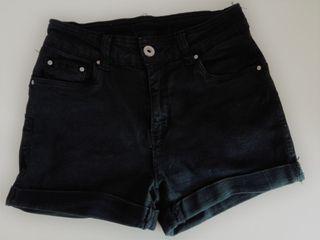 Shorts negros push-up