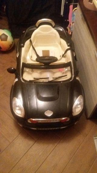 coche para niño mini cupe 12v 2 baterías de 6v
