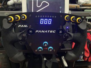 Volante Fanatec F1 Esports oficial PS4 sim racing
