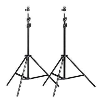 2 Piezas Soporte Luz de 200cm/78 Trípode de Luz