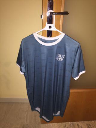 Camiseta Siksilk azul