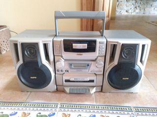 ,CD ,radio radio cassette