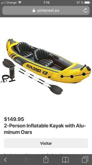 KAYAK K2 hinchable