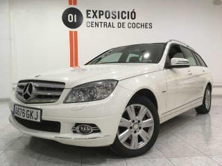 Mercedes Clase C 220 CDI Estate /Xenon / Asientos infantiles --- NACIONAL ---