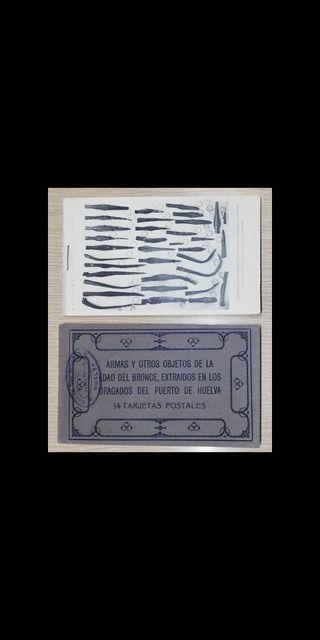 Armas y otros objetos de la Edad del Bronce.