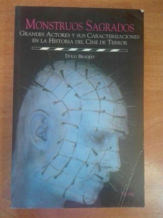 Libro Monstruos Sagrados de Doug Bradley
