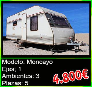 Caravana de segunda mano Moncayo
