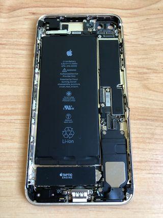 Chasis iPhone 7 Plus Gold trasera Original