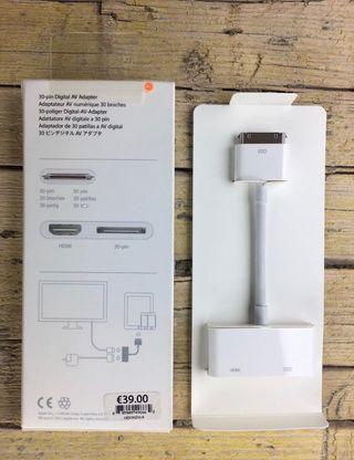 Adaptador Hdmi iPad / IPhone 30 pin