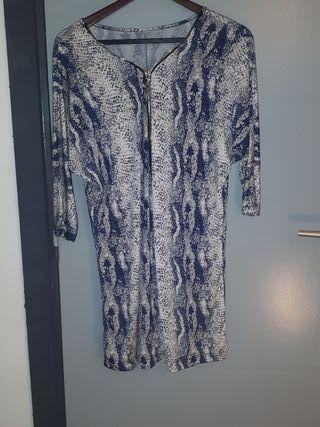 Robe motif effet serpent