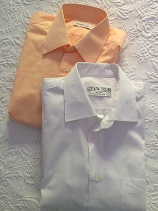 Camisas traje NUEVAS lote 4