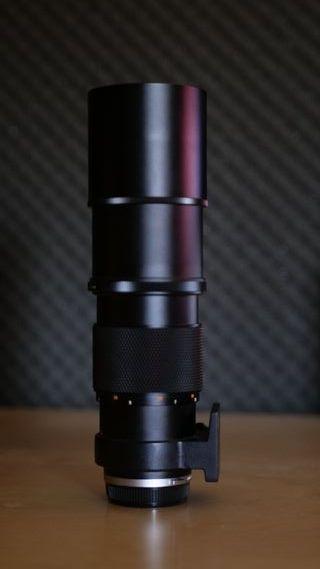 Objetivo profesional Olympus Zuiko 300mm f4.5