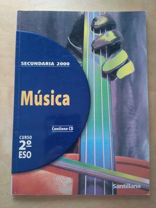 Música 2ESO Santillana Secundaria 2000