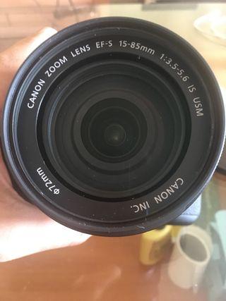Vendo Cànon 7D con objetivo y accesorios