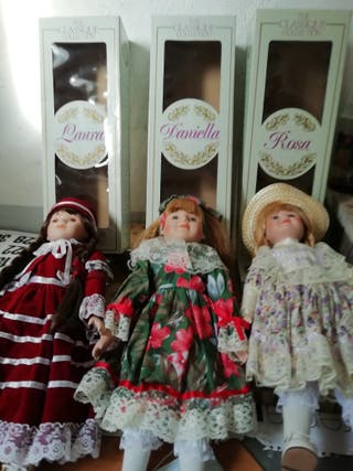 Muñecas de porcelana The Clasique Collection