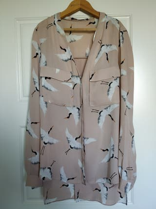 Blusa camisa Zara