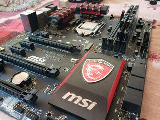CPU i7 4770k + PBase MSI gaming 5 + 16GB RAM OC
