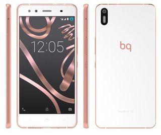 Bq X5 blanco y rosa
