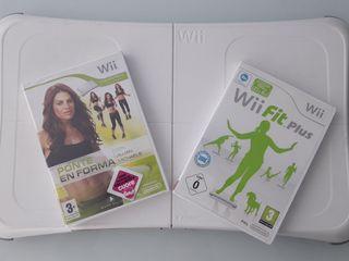 Balance Board , Wii Fit Plus , Ponte en forma
