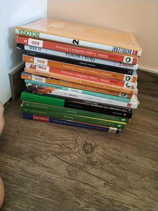 libros escolares de eso-batchillerato