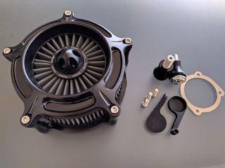 Filtro aire RSD Turbine Black Harley Davidson