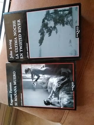 Libros 5€ cada uno. Los dos x8€