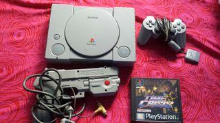 Playstation 1 con juego