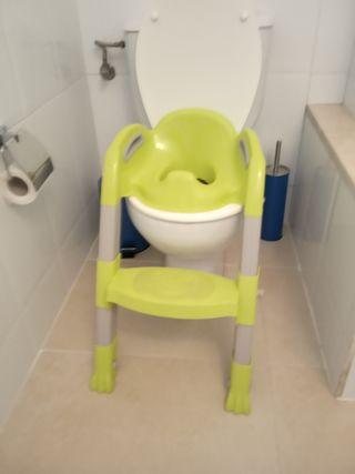 asiento adaptador inodoro / orinal
