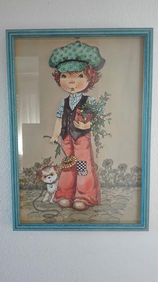 Cuadro infantil Mary May