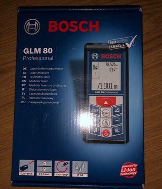Metro laser/ medidor láser Bosch GML 80