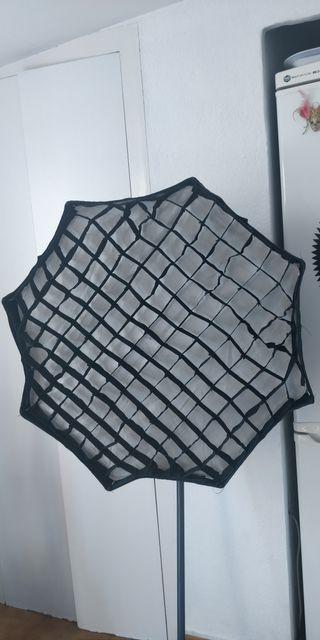 Paraguas/reflector de fotografía 80cm