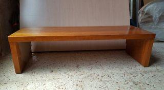 mueble bajo para TV color cerezo