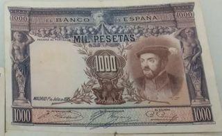 1000 pesetas 1925