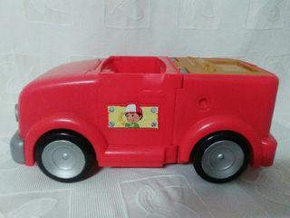 Camioneta Manny Manitas