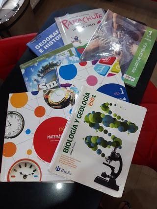 Libros escolares 1º de la ESO
