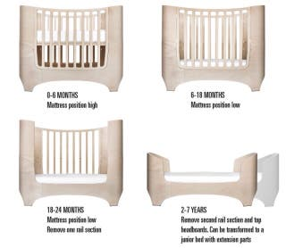 Leander from cot to bed - Cuna/Cama