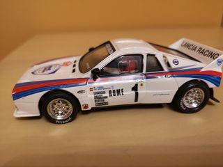 Lancia 037 slot marca Scalextric