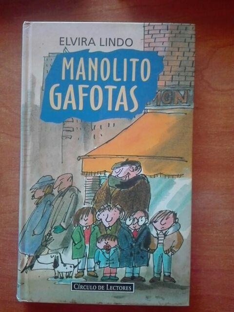 Libros MANOLITO GAFOTAS de Elvira Lindo.
