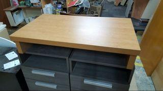 mueble bajo para TV color pino nuevo de tienda