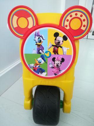 Moto feber mickey infantil
