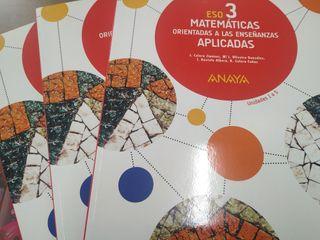 matemáticas 3 ESO aplicadas