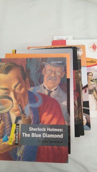Colección libros en inglés para estudiantes