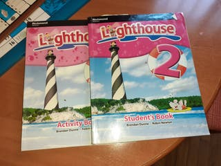 Libro y cuaderno inglés Richmond lighthouse